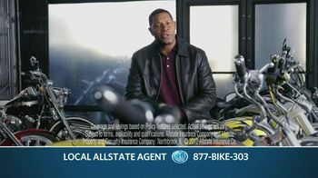 Allstate TV Spot For Motorcycle Insurance Featuring Dennis Haysbert - 25 commercial airings