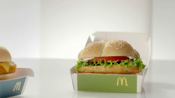 McDonald's Favorites Under 400 Menu TV Spot, 'Sandwich Break-Up' - Thumbnail 3