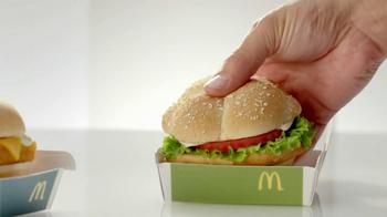 McDonald's Favorites Under 400 Menu TV Spot, 'Sandwich Break-Up' - Thumbnail 4