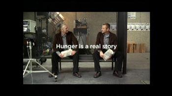 Feeding America TV Spot Featuring Aaron Eckhart