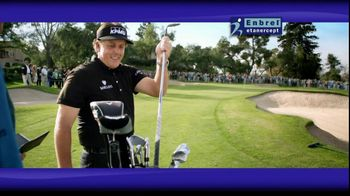 Enbrel TV Spot Featuring Phil Mickelson - Thumbnail 6