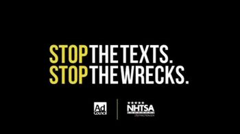 Stop the Texts, Stop the Wrecks TV Spot, 'Texting & Driving' Featuring Kasey Kahne - Thumbnail 10