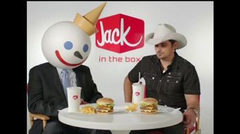 Jack in the Box TV Spot For All-American Jack Combo Featuring Brad Paisley - 65 commercial airings