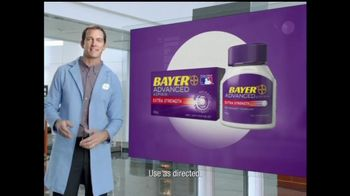 Bayer TV Spot For Advanced Aspirin  - Thumbnail 5