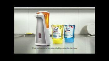 Lysol No-Touch Kitchen System TV Spot, 'Food Preparation' - Thumbnail 9