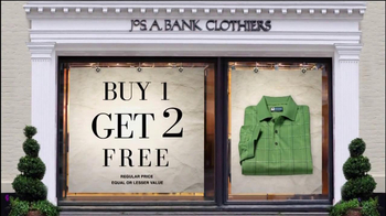 JoS. A. Bank TV Spot For Buy, 1 Get 2 Free - Thumbnail 2