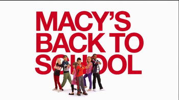 Macy's  Back To School Event TV Spot - 22 commercial airings