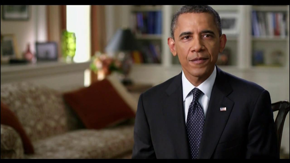 Obama for America TV Commercial Featuring President Obama