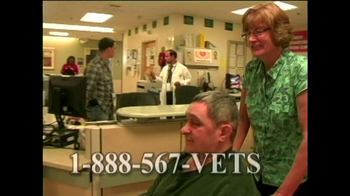 Help Hospitalized Veterans (HHV) TV Spot For Volunteers Featuring James Rey - Thumbnail 2