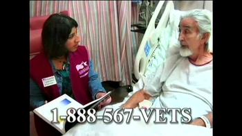 Help Hospitalized Veterans (HHV) TV Spot For Volunteers Featuring James Rey - 4 commercial airings