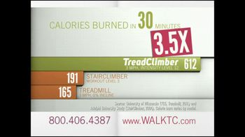 Bowflex TreadClimber TV Spot, 'Walked'
