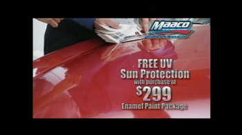 Maaco TV Spot For Free UV Protection With Paint Package