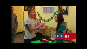 USO TV Spot For USO Featuring Peter Berg - Thumbnail 9