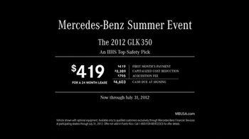Mercedes-Benz TV Spot For 2012 GLK 350 - Thumbnail 5