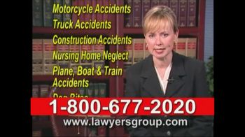 Lawyers Group TV Spot For Legal Assistance
