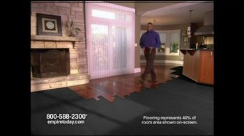 Empire Today TV Spot for 60% Sale on Flooring - Thumbnail 1
