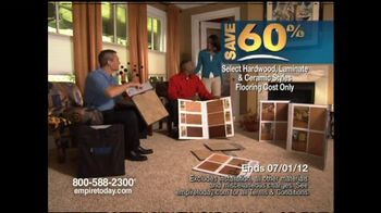 Empire Today TV Spot for 60% Sale on Flooring - Thumbnail 5