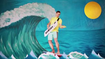 Taco Del Mar TV Spot for Shrimp Tostada with Singing Surfer - Thumbnail 1