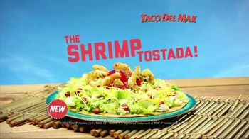 Taco Del Mar TV Spot for Shrimp Tostada with Singing Surfer - Thumbnail 5