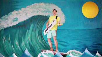 Taco Del Mar TV Spot for Shrimp Tostada with Singing Surfer - Thumbnail 3