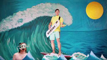 Taco Del Mar TV Spot for Shrimp Tostada with Singing Surfer - Thumbnail 4