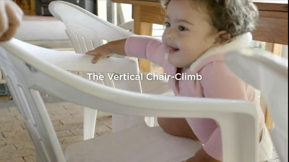 Pampers Cruisers TV Commercial, 'Vertical Chair Climb'