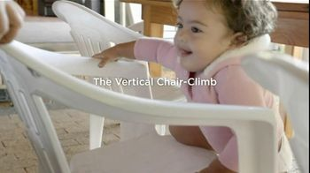 Pampers Cruisers TV Spot, \'Vertical Chair Climb\'