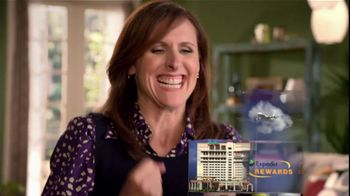 Expedia Rewards TV Spot Featuring Molly Shannon