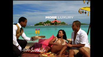 Sandals Resorts TV Spot, 'Caribbean Vacation Deals' - Thumbnail 2