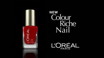 L'Oreal Colour Riche Nail Polish TV Spot Featuring Halle Barry