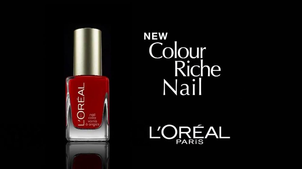 L\'Oreal Colour Riche Nail Polish TV Commercial Featuring Halle Barry ...