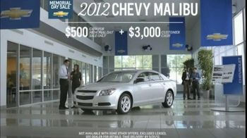 2012 Chevy Cruze and Malibu TV Spot, 'Out of Breath' - Thumbnail 5
