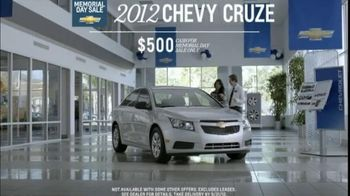2012 Chevy Cruze and Malibu TV Spot, 'Out of Breath' - Thumbnail 4