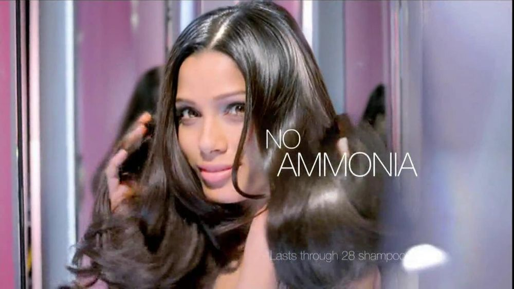 Loreal Healthy Look Creme Gloss Color Tv Commercial Featuring