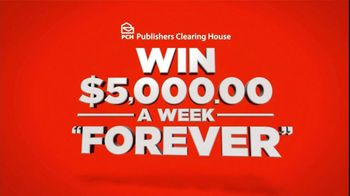 Publishers Clearing House TV Spot, '$5,000 Forever Prize'