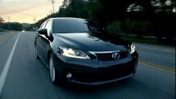 Lexus CT Hybrid TV Spot - Thumbnail 1