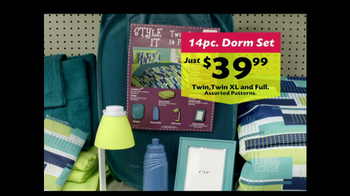Big Lots TV Spot, 'The Keys To Back To School: Dorm Set' - Thumbnail 8