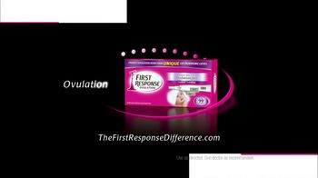 First Response Fertility and Ovulation Tests TV Spot