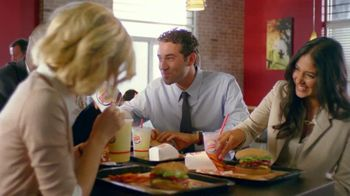 Burger King TV Spot For Let's Have A BBQ Co-Workers - 1 commercial airings