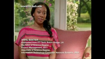 ITT Technical Institute TV Spot For April Testimonial