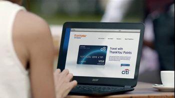 Citi TV Spot For ThankYou Rewards Card Traveling - Thumbnail 2