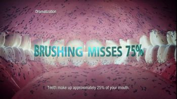 Listerine TV Spot For Listerine Mouthwash Woman's Mouth - Thumbnail 5