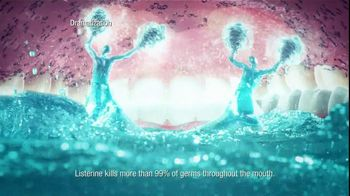 Listerine TV Spot For Listerine Mouthwash Woman's Mouth - Thumbnail 6