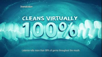 Listerine TV Spot For Listerine Mouthwash Woman's Mouth - Thumbnail 7