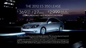2012 Lexus ES 350 TV Spot - Thumbnail 8