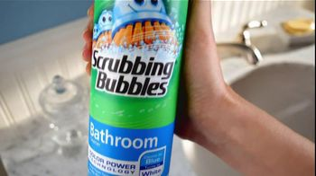 Scrubbing Bubbles TV Spot For Bathroom Cleaner With Color Power - Thumbnail 2