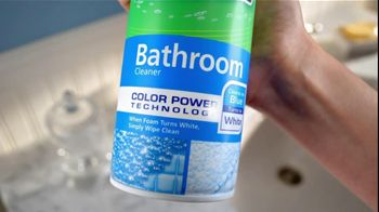 Scrubbing Bubbles TV Spot For Bathroom Cleaner With Color Power - Thumbnail 3