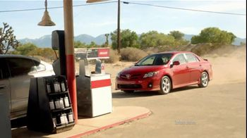2012 Toyota Corolla TV Spot, 'Gas Station' - Thumbnail 2