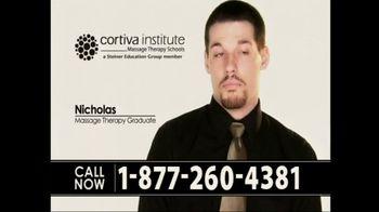 Cortiva Institute TV Spot For Massage Therapy School Testimonials - Thumbnail 1