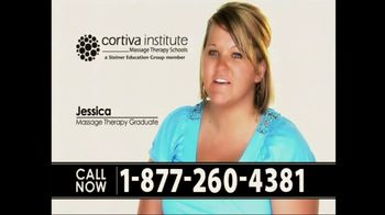 Cortiva Institute TV Spot For Massage Therapy School Testimonials